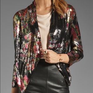 Lovers & Friends at first sight sequins jacket S